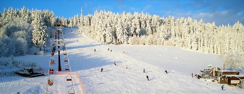 Sjezdovky Ski areál Harusák